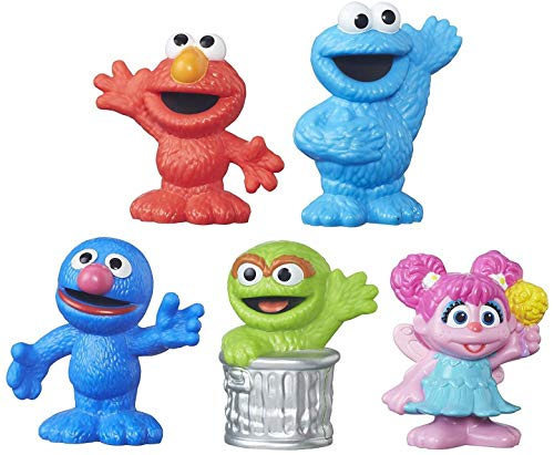 Playskool-Sesame-Street Collector Pack 5 Figures