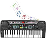 Shayson Keyboard Piano for Kids, 37-Key Keyboard Piano with FM Radio & Microphone, Portable Electronic Keyboard for Musical Teaching Toys