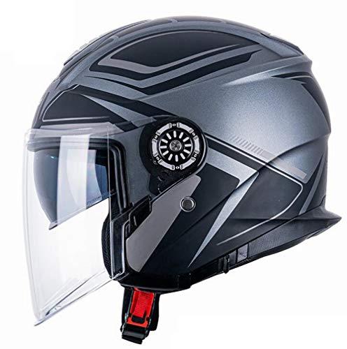 Casco De Moto Custom Homologado  marca LALEO