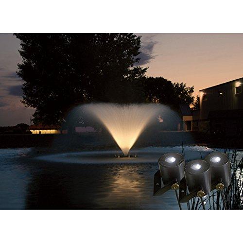 Kasco 3 LED Fountain Light Kit - 100-Ft. Power Cord, Model# LED3125100