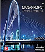 Management A Practical Introduction 8th Edition (Spiral Bound)