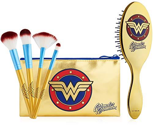 DC Comics Wonder Woman Make-Up Bag and Brush Set