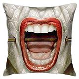 BLACKbiubiubiu American Horror Story - Fundas de almohada decorativas (45 x 45 cm)