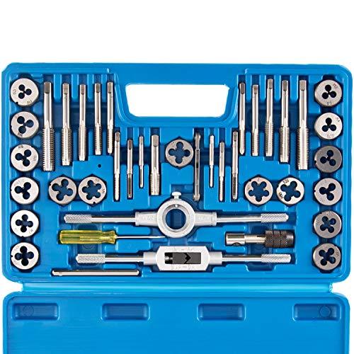 Tap and Die Set Metric   M3, M4, M5, M6, M7, M8, M10, M12 Tap Set and Die Set   Thread Repair Kits for Threading and Rethreading Internal and External Threads