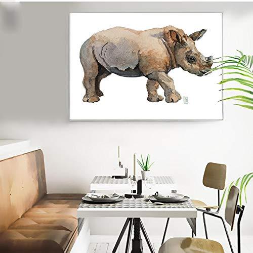 Puzzle 1000 Piezas Cuadro Moderno Elefante Pop Art Puzzle 1000 Piezas educa Rompecabezas de Juguete de descompresión Intelectual Educativo Divertido Juego Familiar para niños50x75cm(20x30inch)
