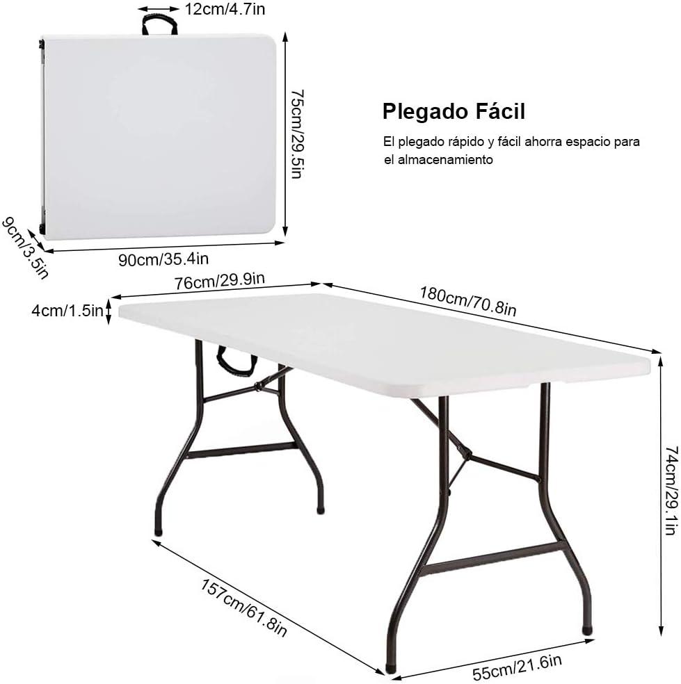 picnic bagagliaio Nestling/® Tavolo pieghevole multifunzionale portatile per campeggio auto guida feste in giardino barbecue allaperto tavolo da pranzo