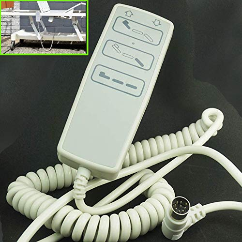 Komplettes elektrisches Krankenhaus-Bett Handsteuerung, kompletter elektrischer Anhänger Controller für Homecare Bett, Liegestuhl,Sofa,Standard-Institutional-/Krankenhausbett,Massage-Kosmetik-Bett