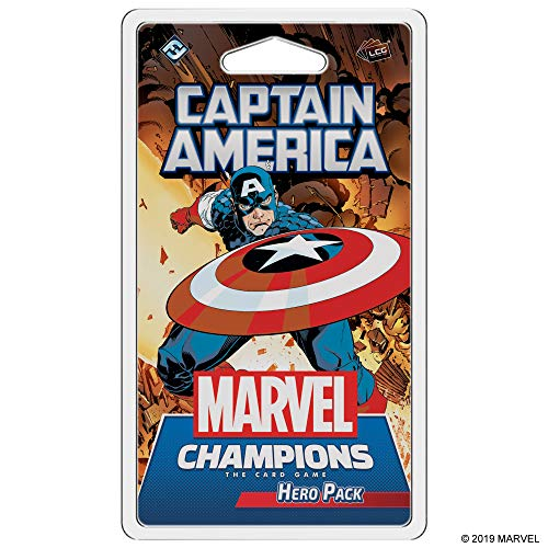 Fantasy Flight Games Marvel Champions: The Card Game Captain America Hero Pack