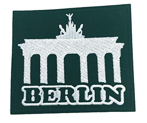 Gemelolandia Parche Bordado Termoadhesivo Ciudad Berlín