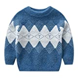 TOUSHIUHUS 2-Kid Baby Boy Sweater Herbst Winter Warmer Pullover Top Süße Mode Gentleman...