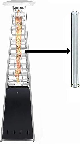 BU-KO Remplacement du Tube de Verre pour Chauffe-terrasse à gaz Pyramid