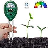 Tester del suolo, il suolo misuratore di umidità, 2-in-1 impianto di tester, il diametro del terreno misuratore di umidità e il pH del terreno Tester for terriccio, giardino, fattoria, prato, verde et