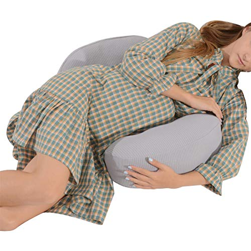 Siminzich Side Sleeper Pregnancy Pillow,Double Wedge for Body, Belly, Back...