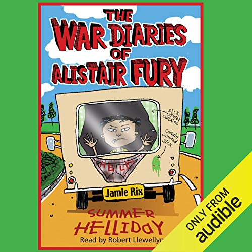 The War Diaries of Alistair Fury: Summer Helliday cover art