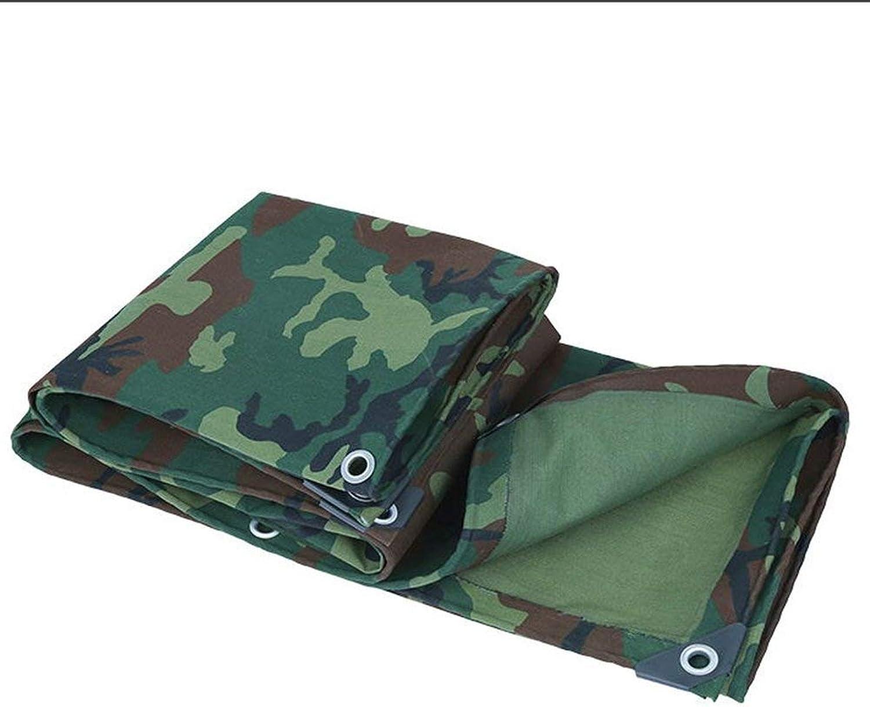 ATR Verdicken Sie Schatten-Planen-Grundblatt-Abdeckungen-Zelt-Schutz-Segeltuch-regensicheres Hochleistungsauen, 600G   M \u0026 sup2; GAOFENG (Farbe  Army Grün + Camo, Gre  5  5m)