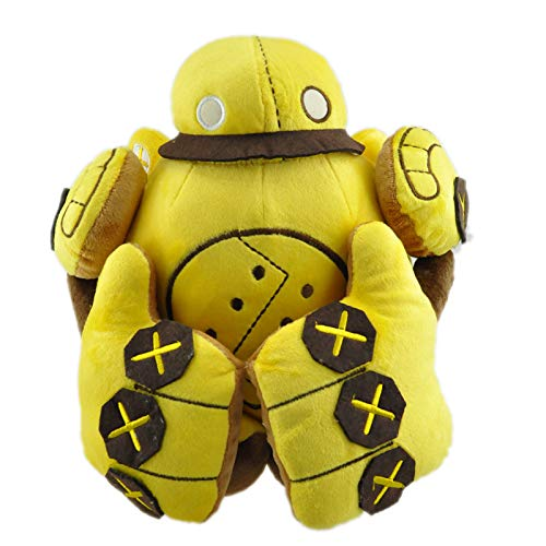 Ruiodr LOL Blitzcrank Plüschpuppe Spielzeug 35Cm LOL Robot Blitzcrank Ethafoam Plüschtiere Plüschtiere Für Weihnachten Geburtstagsgeschenke