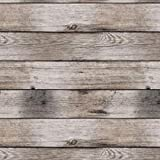 Wachstuch Tischdecke abwaschbar Gartentischdecke Meterware ÖkoTex Fantastik (Beige Planke Holz Bretter- 1000-1, 240 x 140 cm)
