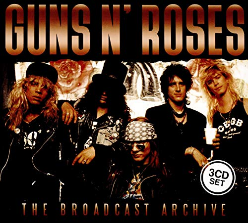 Guns N' Roses - The Broadcast Archive (3CD Collector's Box Set)