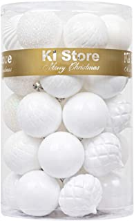 Matte White Ornaments