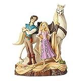 Disney Traditions, Figura de Rapunzel, Flynn y Maximus de 'Enredados', Enesco