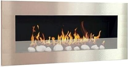 Ethanol & Gel Brandstof Open haard Model XXL Design + gratis 24 decoratieve stenen