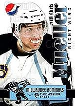 (CI) Chris Mueller Hockey Card 2009-10 Milwaukee Admirals Pepsi 11 Chris Mueller