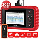 LAUNCH CRP Touch Pro Diagnostic Scan Tool Automotive Full System OBD2 Scanner Fault Code Reader with Oil/Service Reset, EPB, SAS, DPF, BMS Function