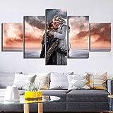Fbewan 5 Stücke Film Poster Jon Snow Und Khaleesi Liebe