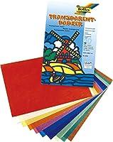 トランスパレント 10色10枚 185×297mm
