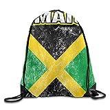uykjuykj Gay Pride Parade Drawstring Bags Backpack Lightweight Unique 17x14 IN