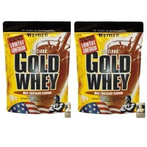 Weider Delicious Gold Whey 2 x 500g Beutel 2er Pack Milk Chocolate