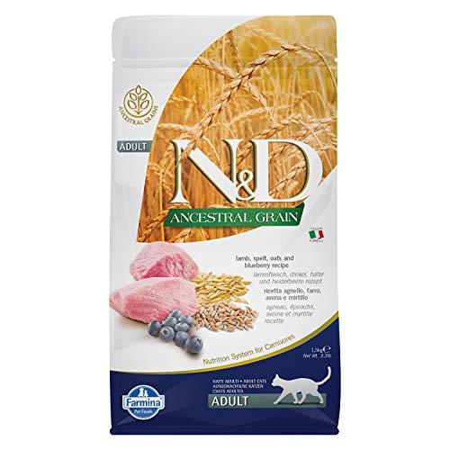 Farmina N&D getreidearm Katze Lamm & Heidelbeere ADULT 1,5 KG Trockenfutter (1,5 kg)