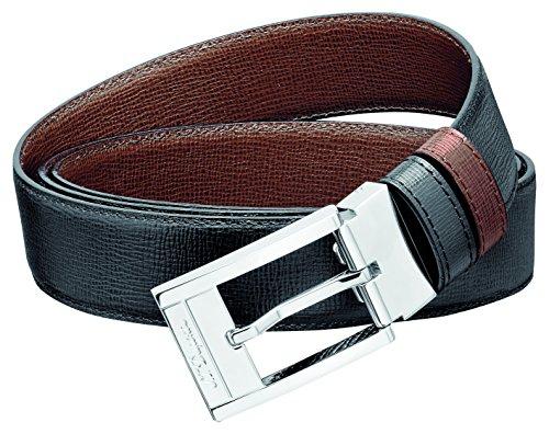 S.T. Dupont D-8152020 Business-riem, omkeerbaar, zwart/bruin