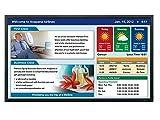 Sharp PN-E802 - 80' PN-E Series LED-backlit LCD flat panel display - 1080p (FullHD) - full array