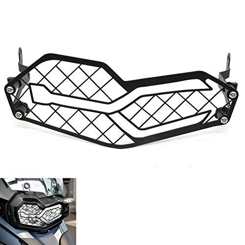 RONSHIN Accessoire Motorfiets Koplamp Bescherming RVS Grille Mesh voor BMW F750GS F850GS 18-19