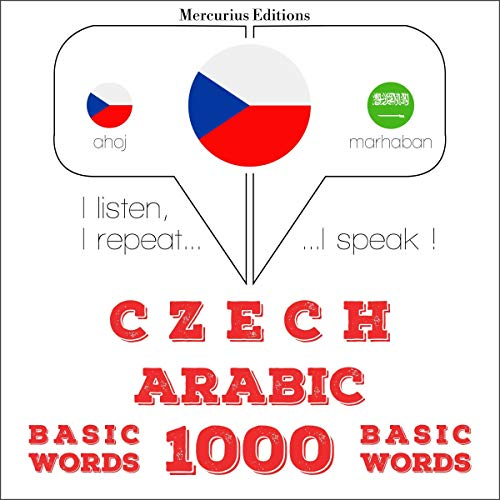 Couverture de Czech - Arabic. 1000 basic words