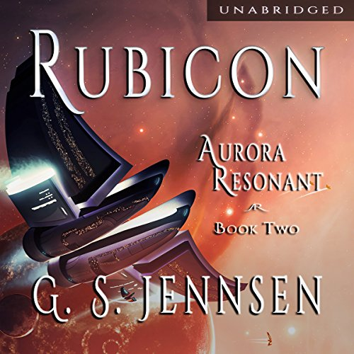 Rubicon: Aurora Resonant, Book 2 audiobook cover art