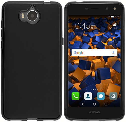 Hülle kompatibel mit Huawei Y7 Handy Case Handyhülle, schwarz - 2