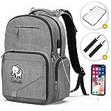 Best Baby Backpack Diaper Bags - Diaper Bag Backpack Baby Bag - Large Diaper Review