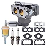 Autoparts labwork Carburetor Replacement for Briggs & Stratton 20HP 21HP 23HP 24HP 25HP intek V-Twin Engine Carb