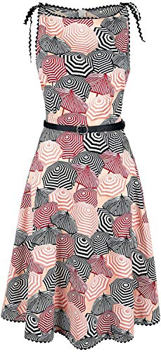 Voodoo Vixen Damen A-Linie Kleid Bettie (Mehrfarbig, Medium)