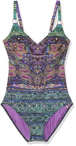 OPERA Damen MAHARANI Deluxe Badeanzug, Violett (Lila 46), (Herstellergröße:46B)