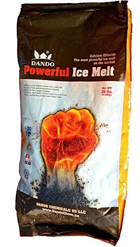 DANDO Powerful ICEMELT 25 LBS Calcium Chloride