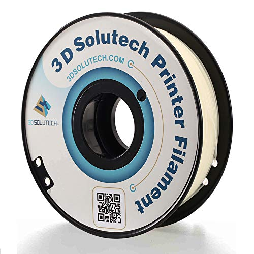 3D Printer PLA Filament 1.75MM Filament, 2.2 LBS (1.0KG) - 3D Solutech (Glow in The Dark)