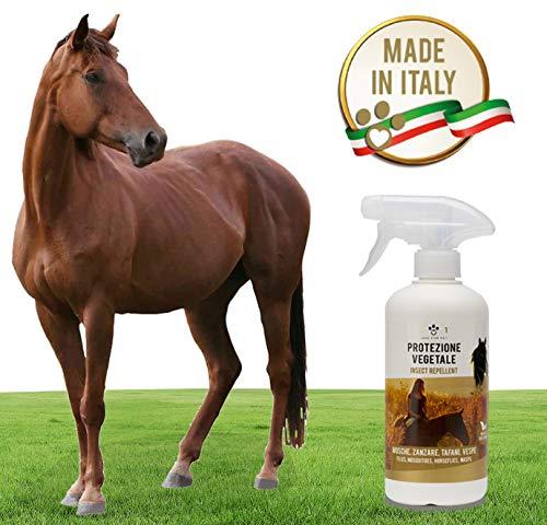 Protezione Vegetale Spray - Repellente Contro Mosche, Zanzare, Vespe, Tafani - Prodotto...