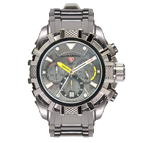 Swiss Legend Reloj Abyss - SL-10307SM-GM-014-GRYS-BB