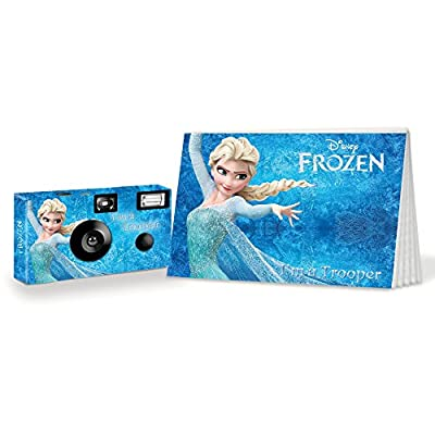 Frozen I'm a Trooper Camera and Photo Album Set. Be Brave. Be Strong. (PK106) from CustomCameraCollection