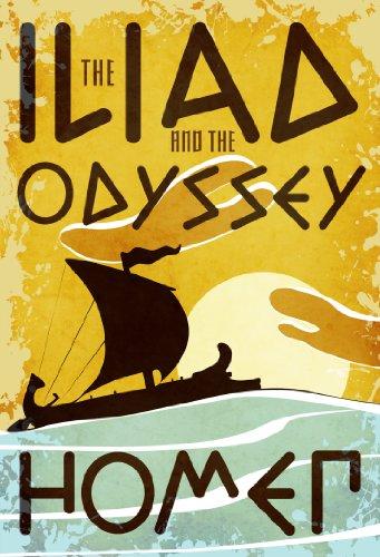 The Iliad and the Odyssey (Fall River Classics)