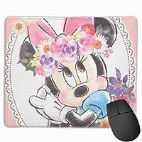 きれいなミニー マウスパッド ゲーミング オフィス最適 高級感 おしゃれ耐久性が良 付着力が強い30x25x0.3cm