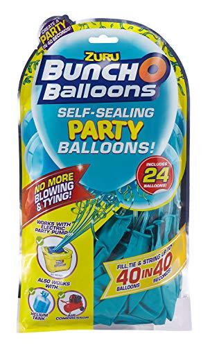 Zuru 51673 - Bunch O Balloons Party, 40 Ballons in 40 Sekunden, Refill Pack mit 24 Ballons und Adapter, 8 fach sortiert, keine Auswahl möglich